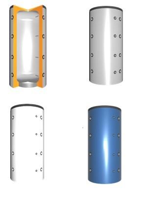 VMS-Therm Hochleistungs-Pufferspeicher ohne Wärmetauscher, 300-5000 Liter