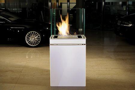 Semi Flame Typ 553b weiß 1,7ltr Brennkammer