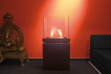 Semi Flame Typ 553a schwarz 1,7ltr Brennkammer