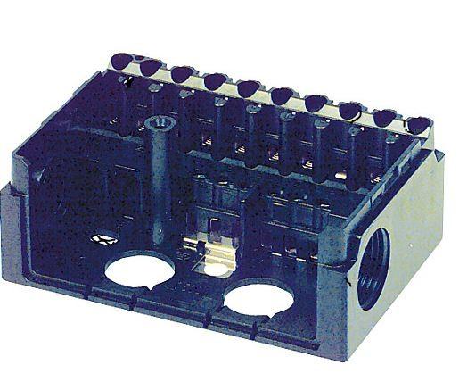 Gerätesockel für Satronic Steuergeräte S 98 12-polig