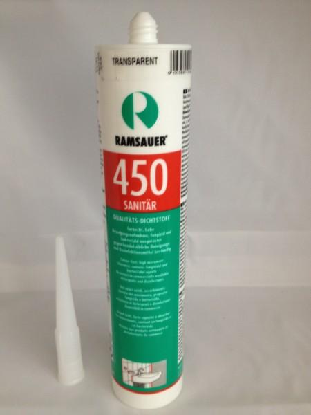 Ramsauer Sanitär Silikon transparent