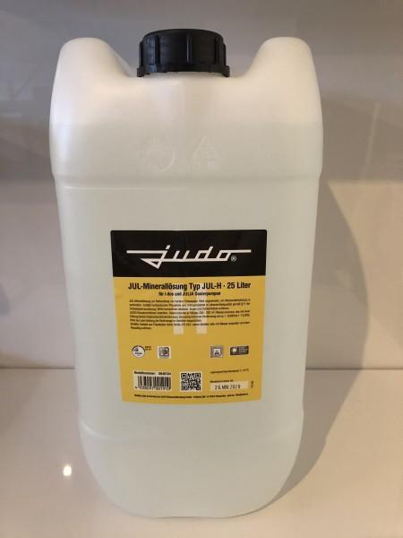 Judo JUL-H Minerallösung für Härtegrad 3, Flasche 25 Liter gelb, 8840134