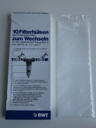 """10x BWT Filterhülsen S und GS/PN 16 1 1/2"""" und 2"""" 10998"""