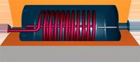 VMS-Therm JTS-Tiefspeicher mit Blechmantel mit einem Wärmetauscher
