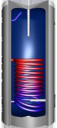 VMS-Therm ERSS-Brauchwasserspeicher emailliert, mit einem Wärmetauscher