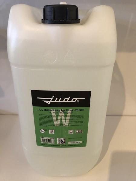 Judo JUL-W Minerallösung für Härtegrad 1+2, Flasche 25 Liter grün, 8840114