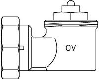 Oventrop Winkeladapter M30x1,5/M30x1,5 weiss