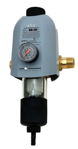 "JUDO BIKO Hauswasserstation 1"" Rückspül-Schutzfilter mit Druckminderer"
