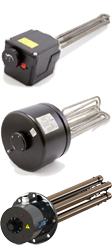 VMS-Therm E-Heizung für Heizungsspeicher, Gewinde oder Flansch