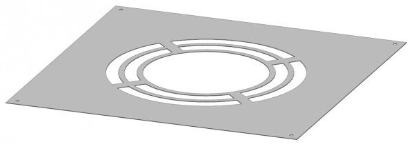 Schornstein - Deckenblende mit Hinterlüftung