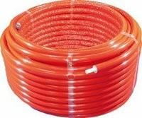 Logafix-Rohr 20x2,25 50m Bund, 13mm vorisoliert Mehrschichtverbundrohr K1