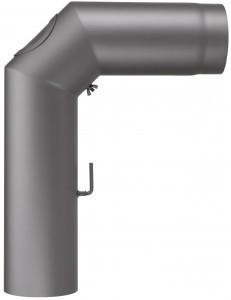 Rauchrohrgarnitur mit Rosette