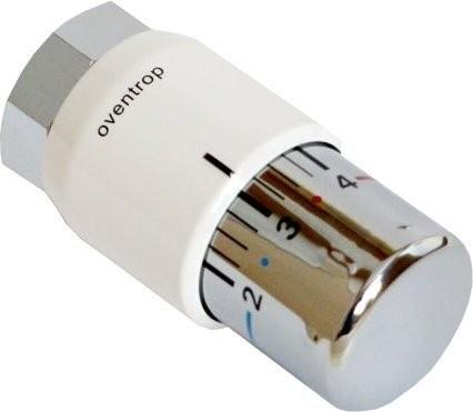 Oventrop Thermostatkopf Uni SH, weiß/verchromt