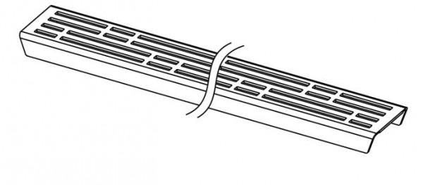 TECE Drainline Rost basic, linas, Fliesenmulde und steel II