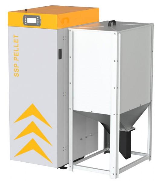 PELLETKESSEL SSP KOMBI LAMBDA 16 kW oder 24 kW