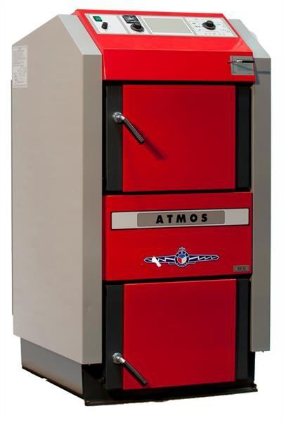ATMOS Holzvergaser GS15 mit 15kW Leistung und für 27cm Scheitholzlänge