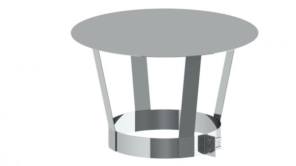 Schornstein - Regenhaube für Mündungsabschluß