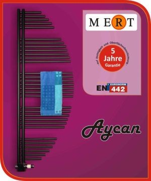 Schöner Badheizkörper Typ Aycan in zwei Farben