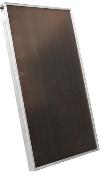 2x Flachkollektor mit Aluminiumabsorber Serie SX AL