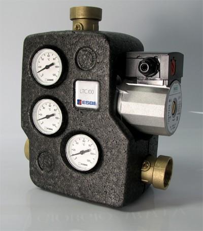 Rücklaufanhebung mit Isolierung für wassergeführte Kaminöfen 55/60/70°C