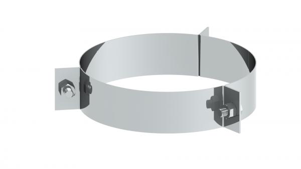 Schornstein - 3 Punkt-Abspannschelle