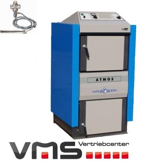 Atmos Holzvergaserkessel GS Serie inkl. Thermische Ablaufsicherung ...