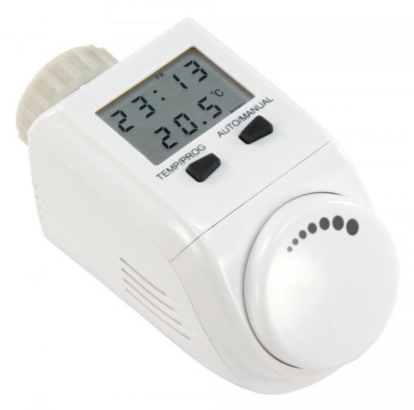 "Elektronischer Heizkörper-Thermostat ""RCT-1"" XXL-LC Display, inkl. Adaptern"