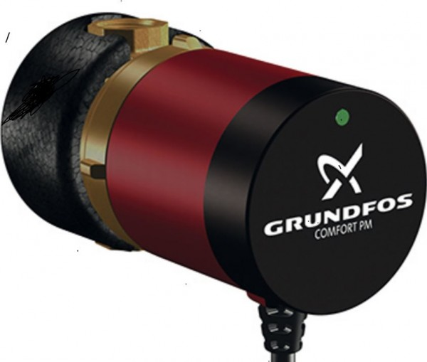 Grundfos -Zirkulationspumpe Typ Comfort PM Typ UP 15-14 B PM