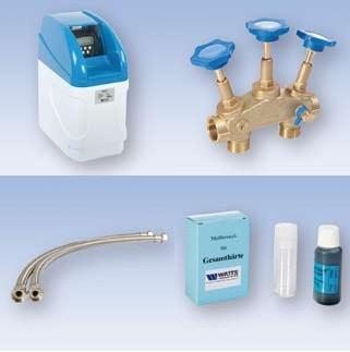 Hydrotec Wasserenthärtungsanlage inkl. SantVo Komplettpaket VAK 6-C-CL