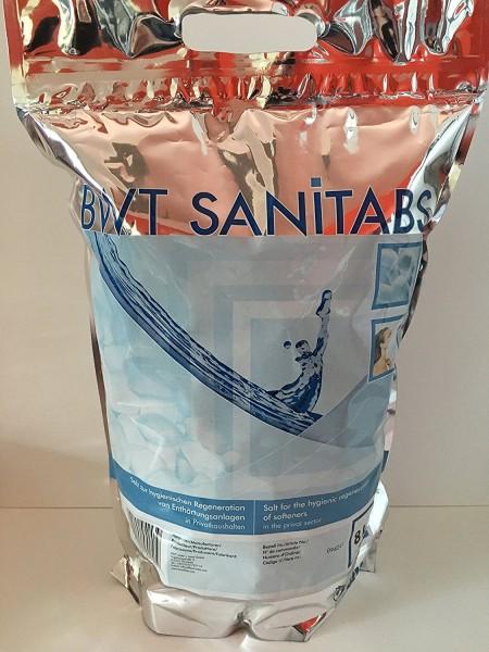 BWT Sanitabs 2-Phasen Enthärtertabs für Hygiene-Regeneration