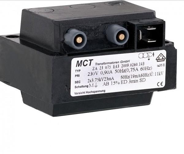 Brötje Zündtransformator Typ ZA 23 075 E 43