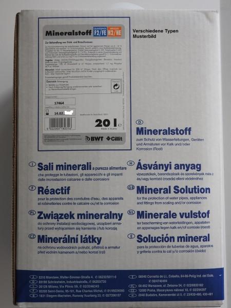 BWT Dosiermittel Quantophos 20 Liter Behälter (versch. Härtegrade)
