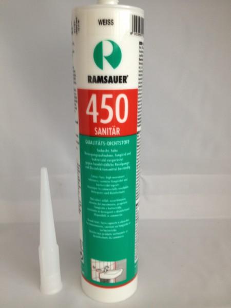 Ramsauer Sanitär Silikon weiß